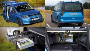 2021 Vw Caddy California Interior Inside