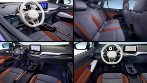 2021 Vw ID 4 Interior