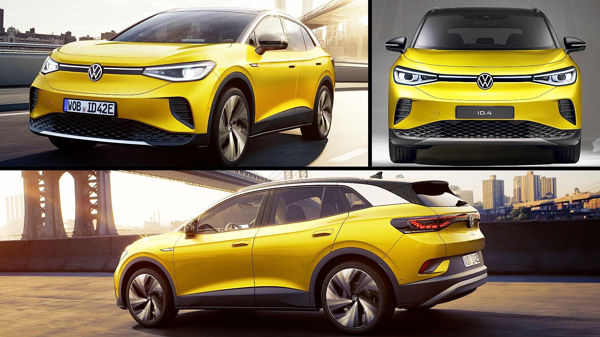 2021 Vw ID 4 Electric Car