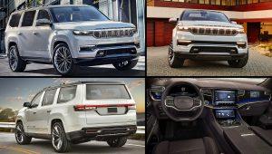 2022 Jeep Grand Wagoneer Hybrid