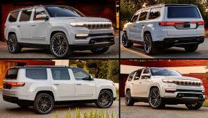2022 Jeep Wagoneer Grand SUV Hybrid Images