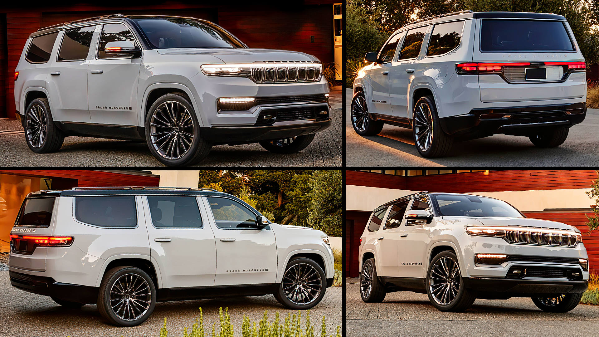 2022 Jeep Wagoneer Grand SUV Hybrid Images