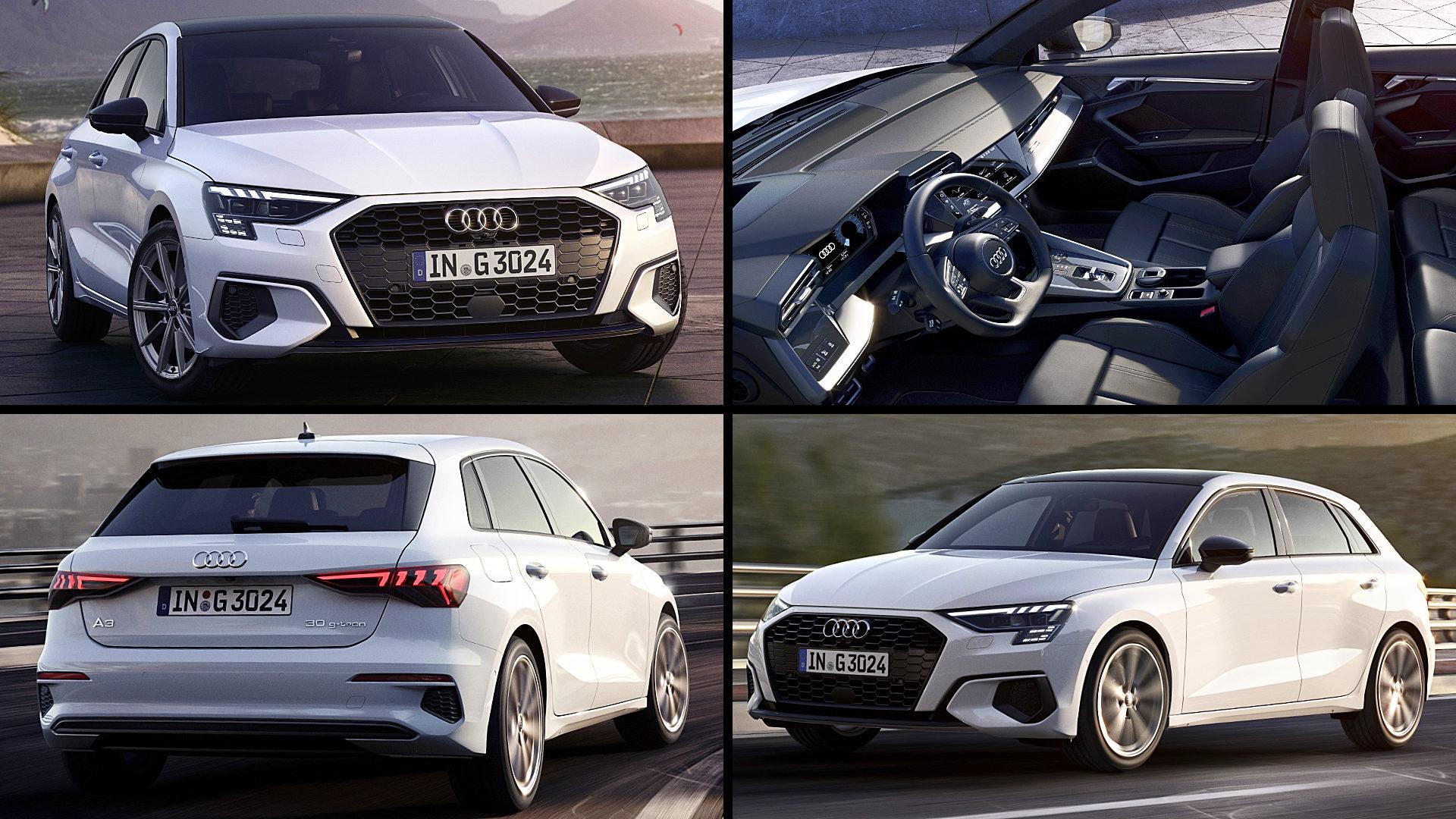 Audi Hatchback A3 White 2021