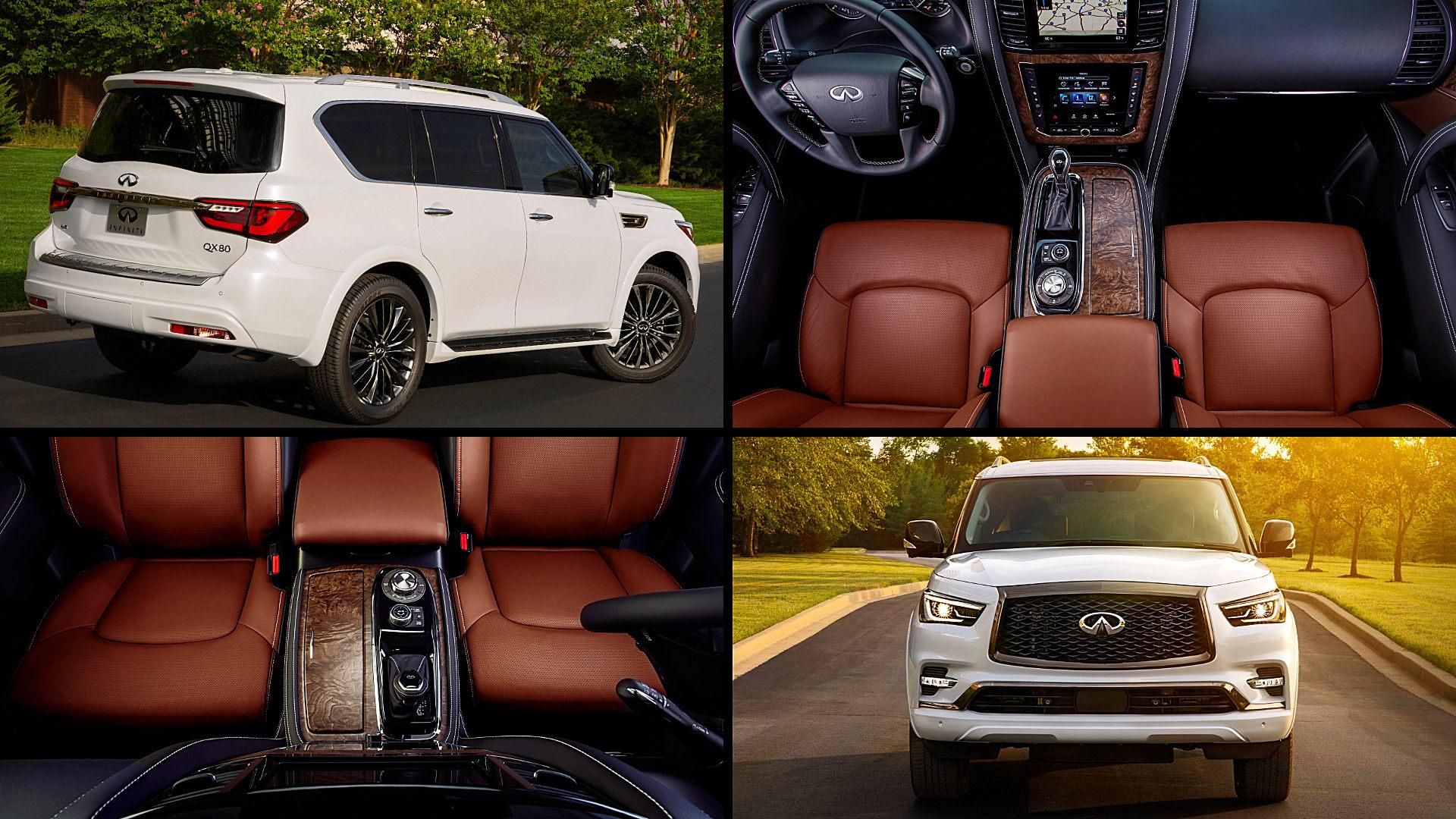 Best Luxury SUV 2021 Infiniti QX80