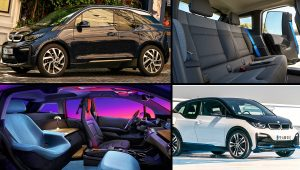 BMW i3 Black Interior Color 2021 Electric Sedan