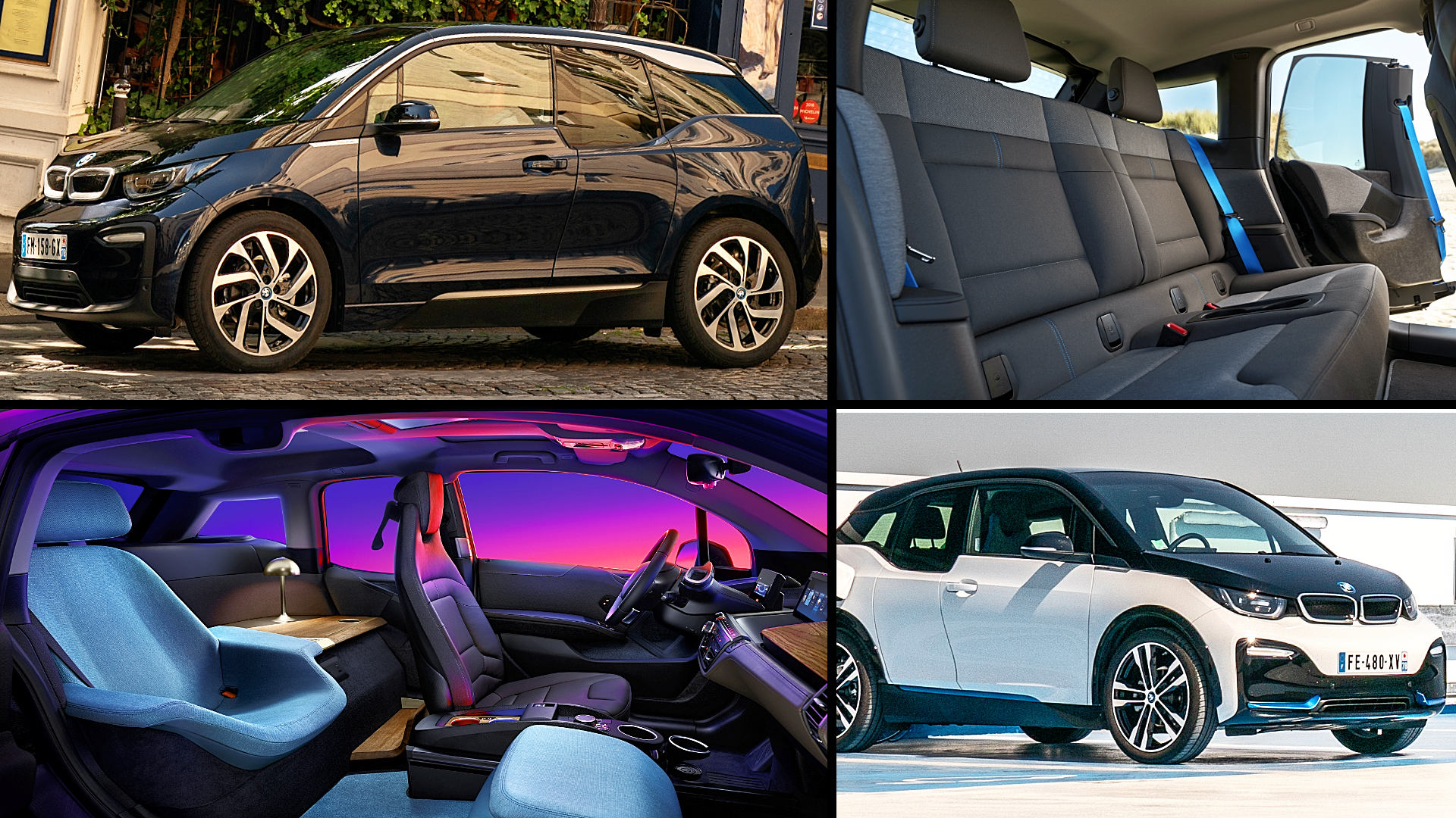 BMW i3 Black Interior Color 2021 Electric Sedan