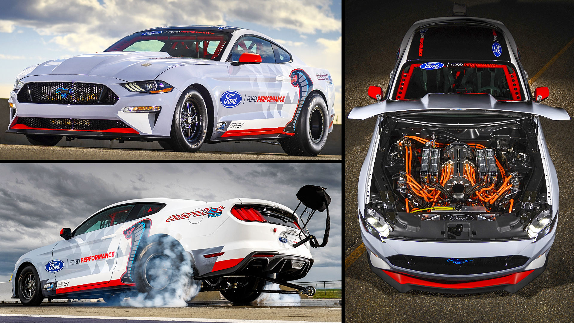 Ford Mustang Cobra Jet Electric Race Car