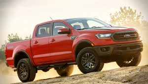 2021 Ford Ranger Tremor Pickup Red