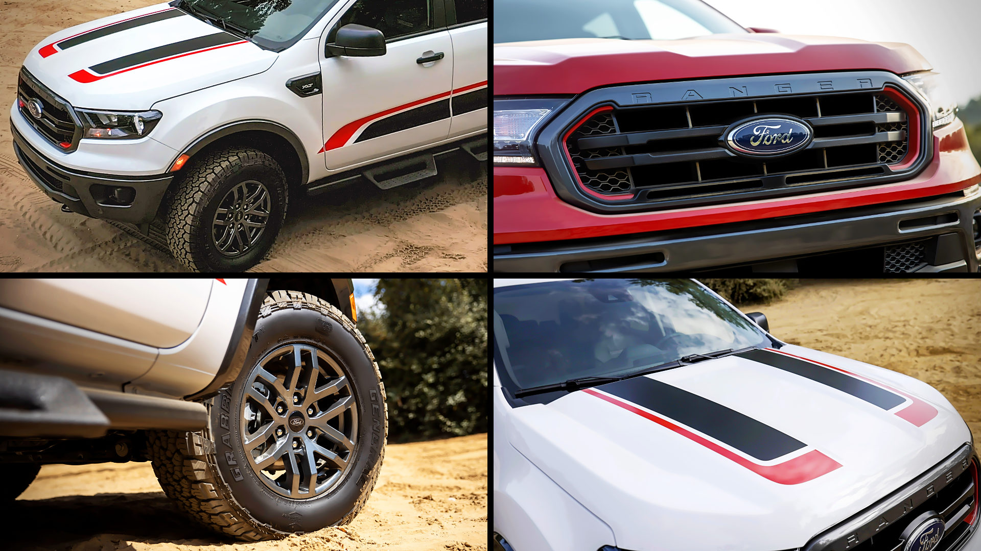 Ford Ranger Tremor Wheels Front Photos