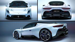 2021 Maserati MC20 Pictures
