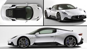 Maserati MC20 White Sports Car Models Pictures Images