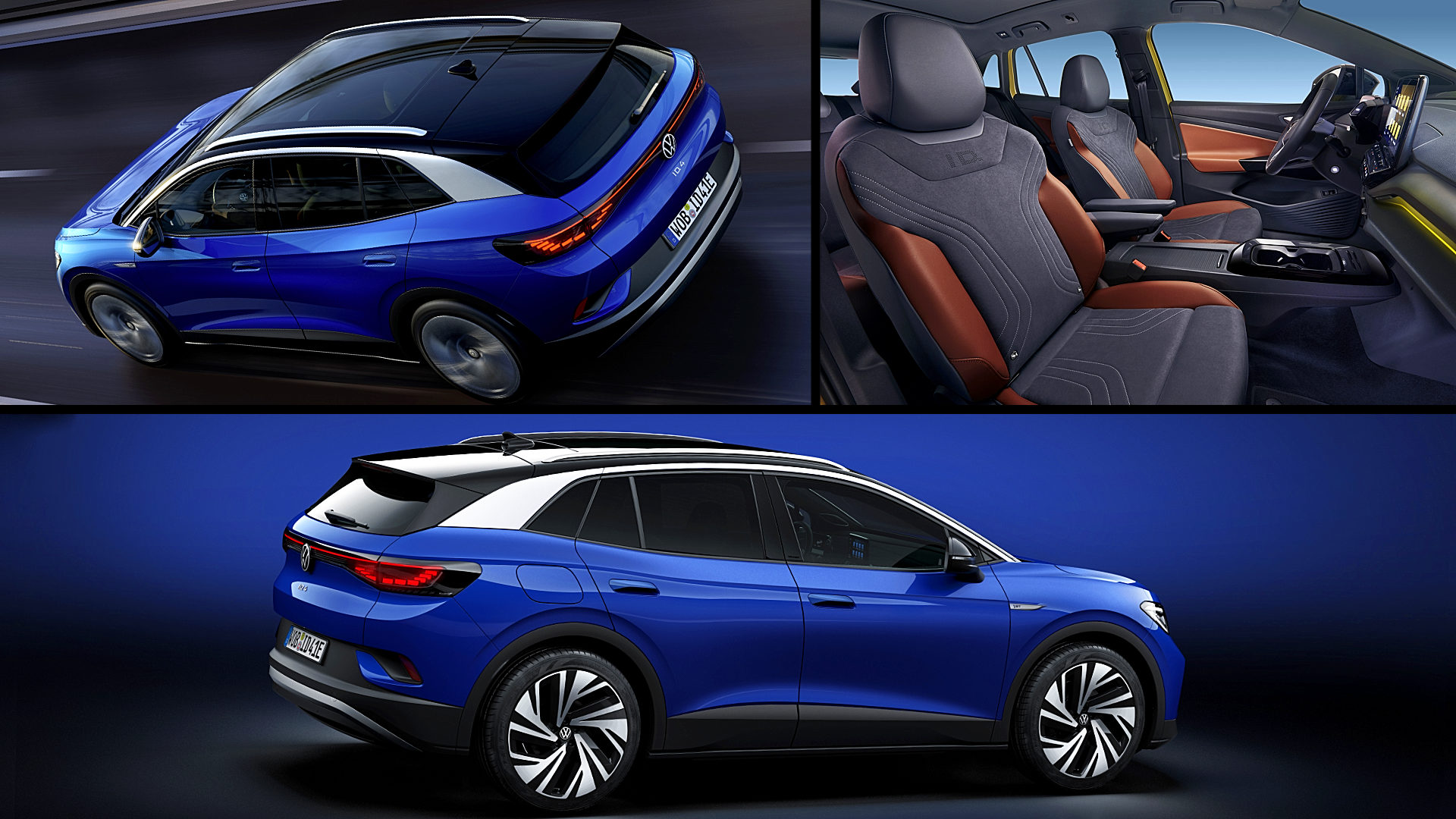Vw Electric Cars 2021 ID 4