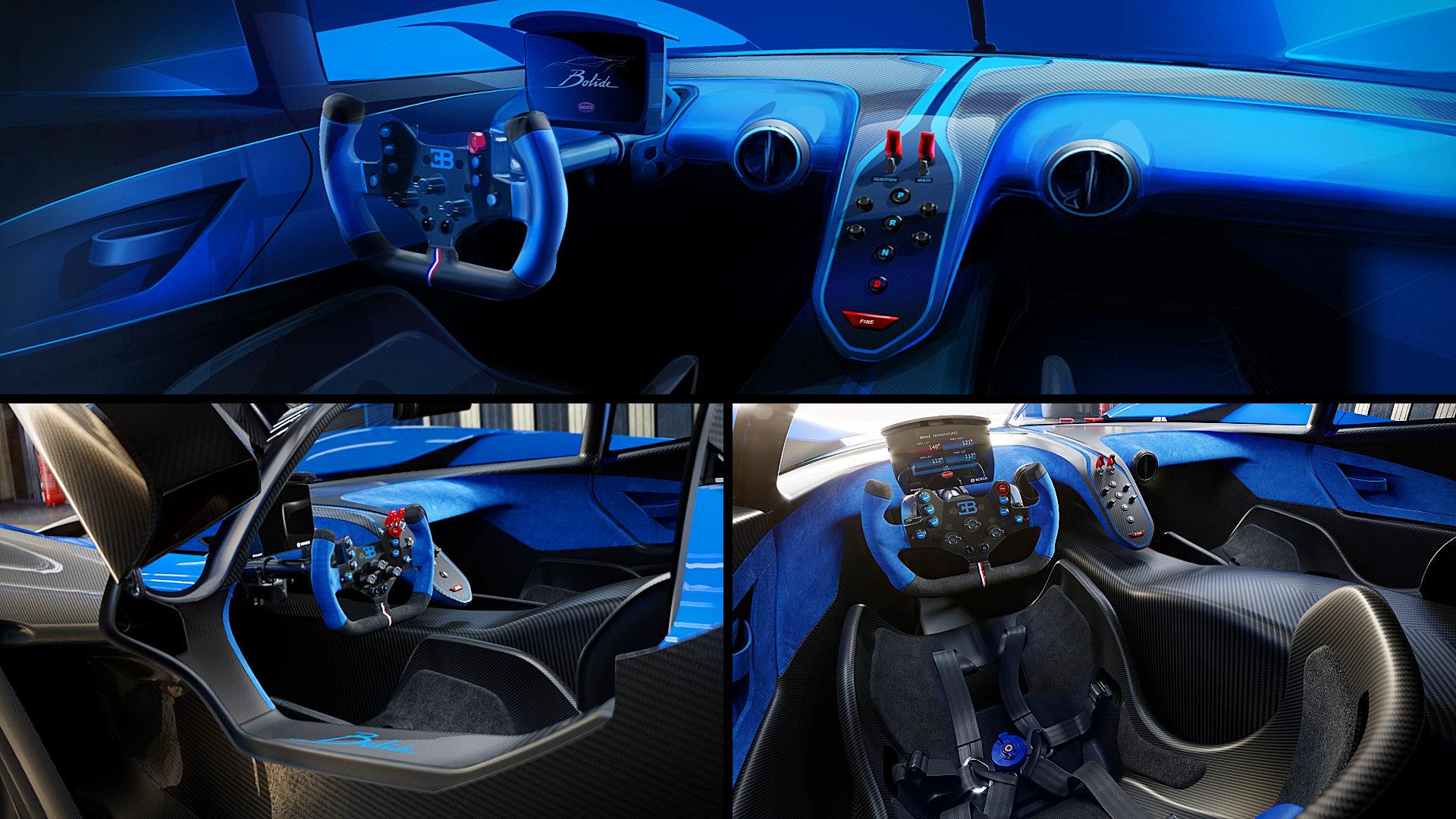 Bugatti Bolide Inside Interior