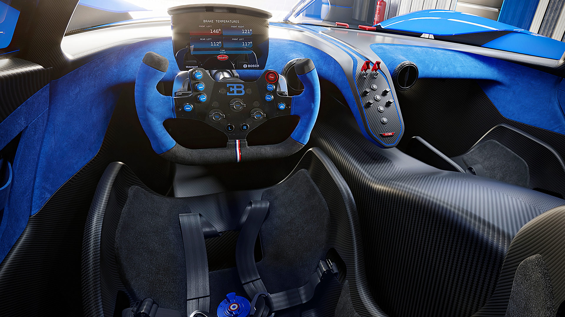 2020 Bugatti Bolide Interior