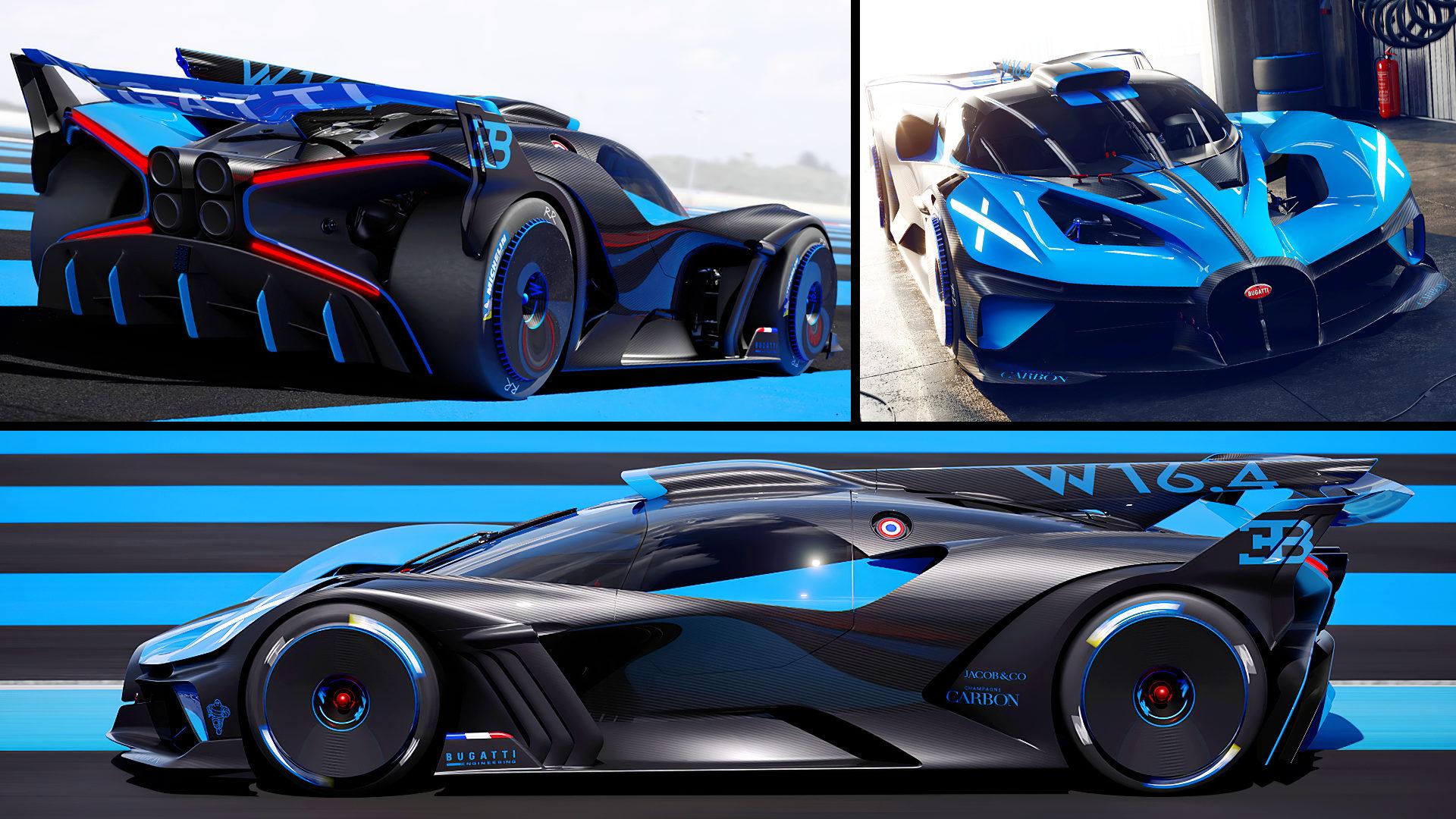 2020 Bugatti Bolide Hypercar