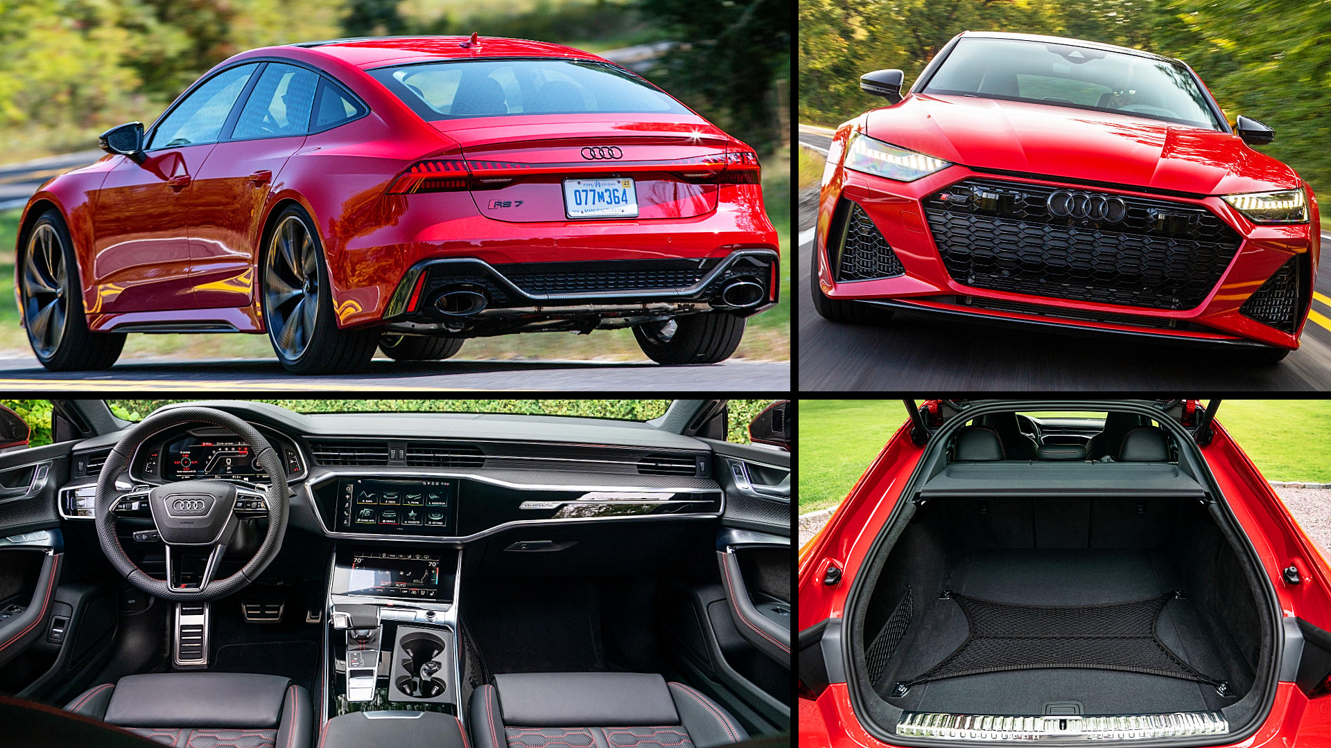 2021 Audi RS7 Sportback Red Pictures Images