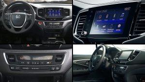 2021 Honda Ridgeline Pickup Interior