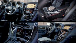 2021 Infiniti Q50 Red Sport Interior