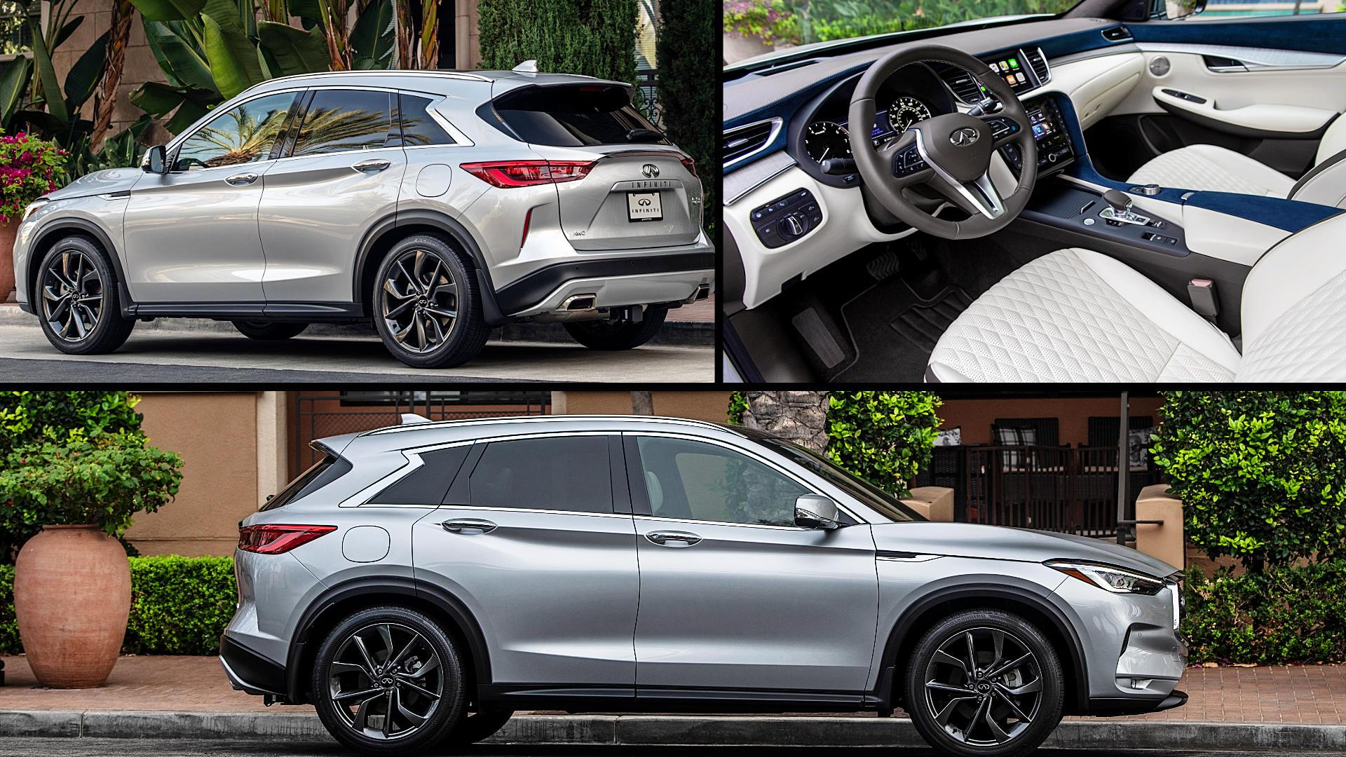 2021 Infiniti SUV QX50 Pictures