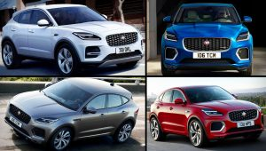 2021 Jaguar E-Pace Electric Colors