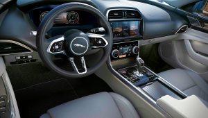 2021 Jaguar XE Interior