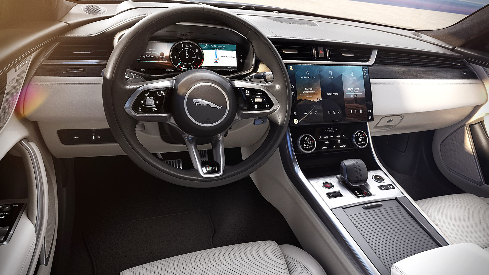 2021 Jaguar XF Interior