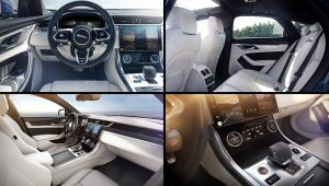 2021 Jaguar XF Saloon Interior