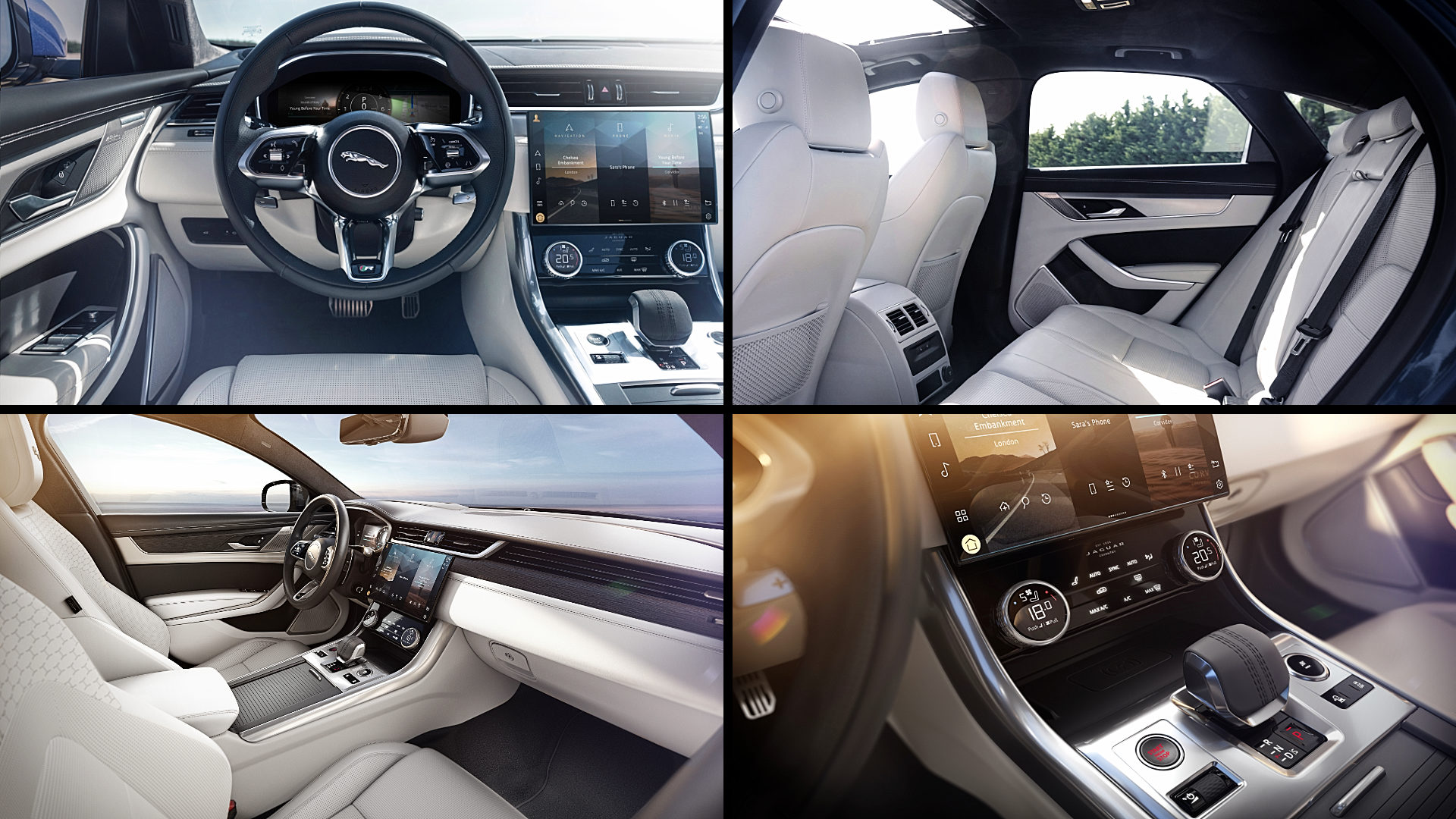 2021 Jaguar XF Saloon Interior