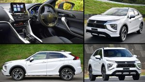 2021 Mitsubishi Eclipse Cross PHEV Pictures