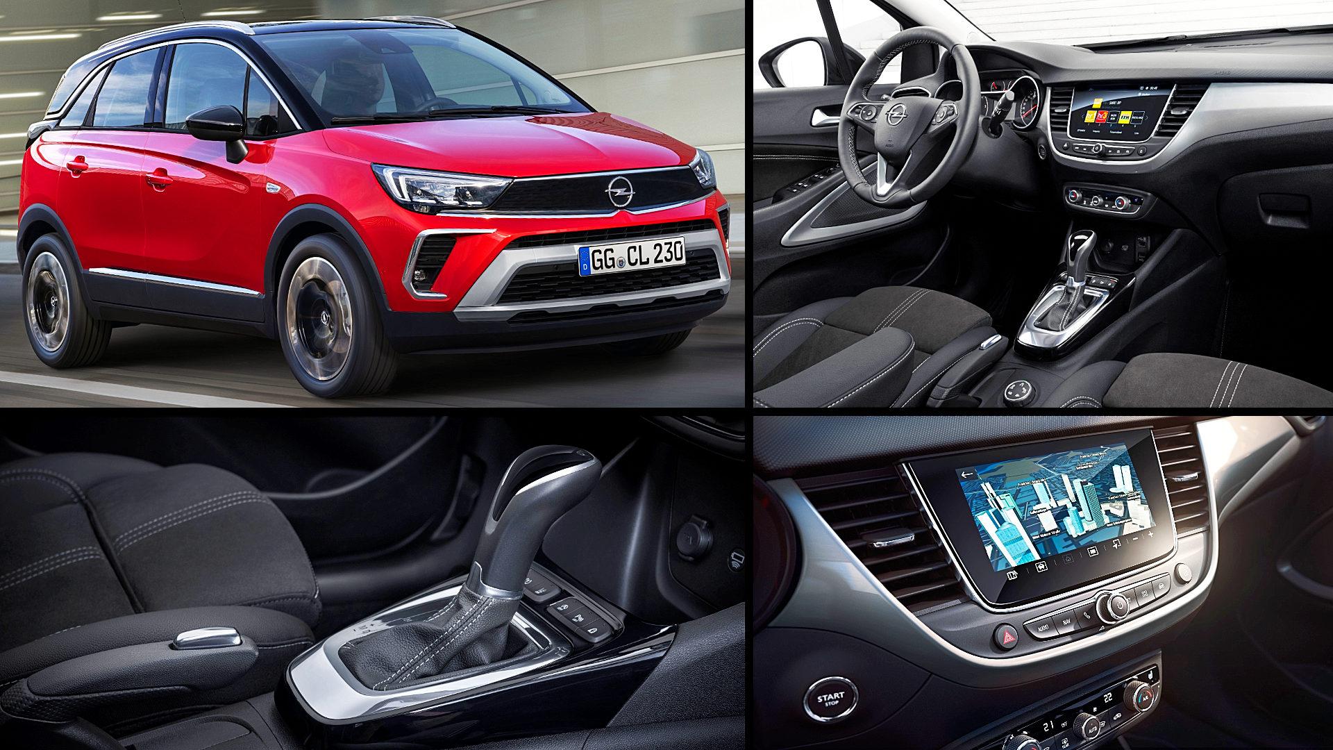 2021 Opel Vauxhall Crossland Interior