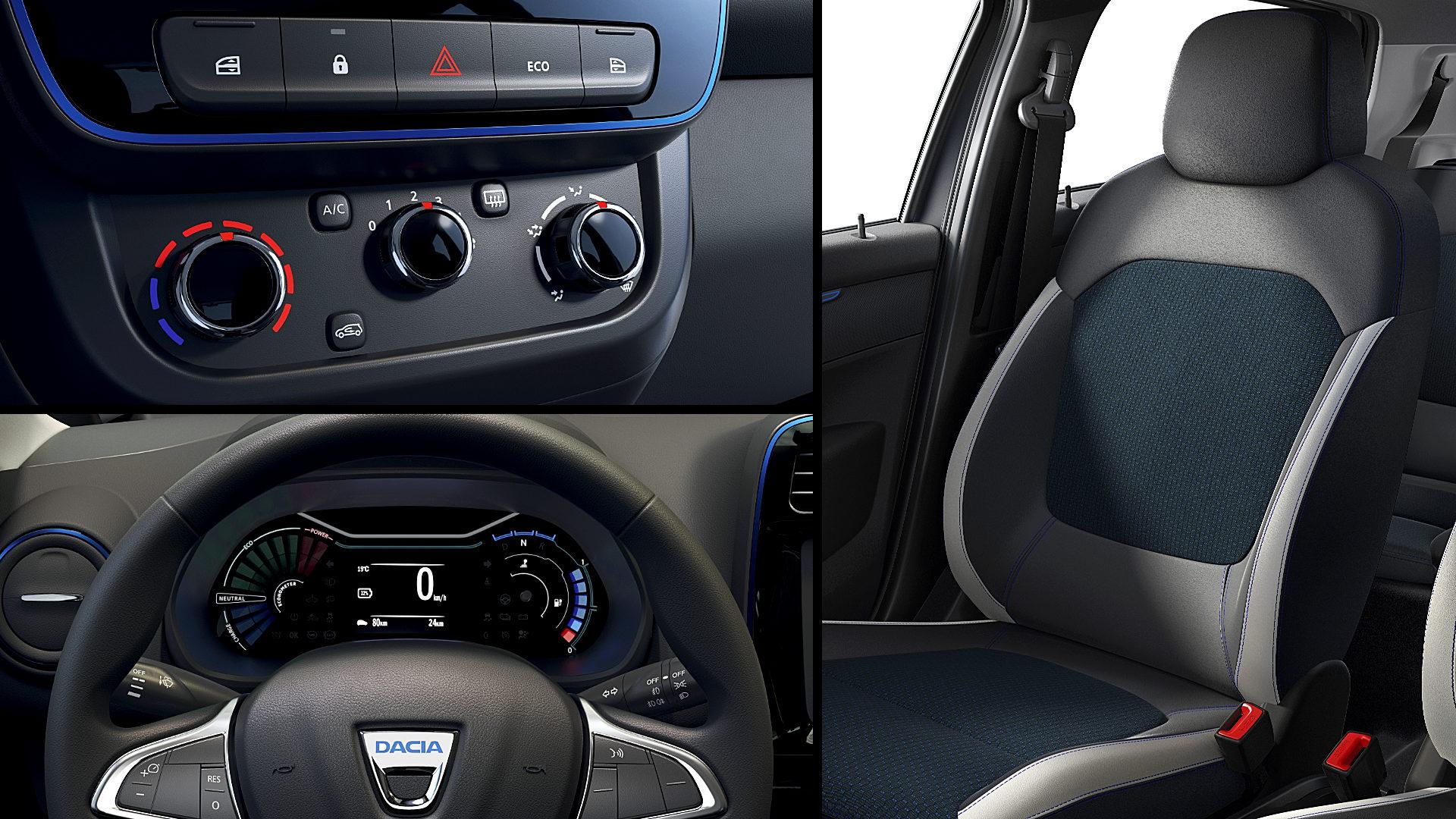2022 Dacia Spring Electric Interior