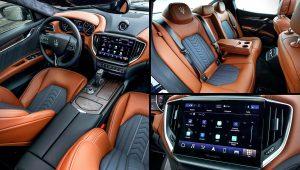 2021 Maserati Ghibli S Q4 GranLusso Interior