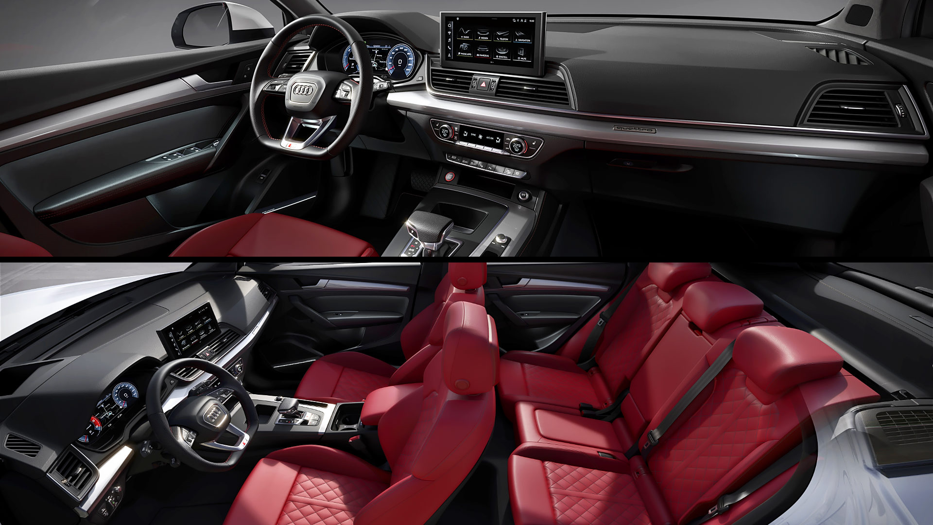 2021 Audi SQ5 Inside Interior
