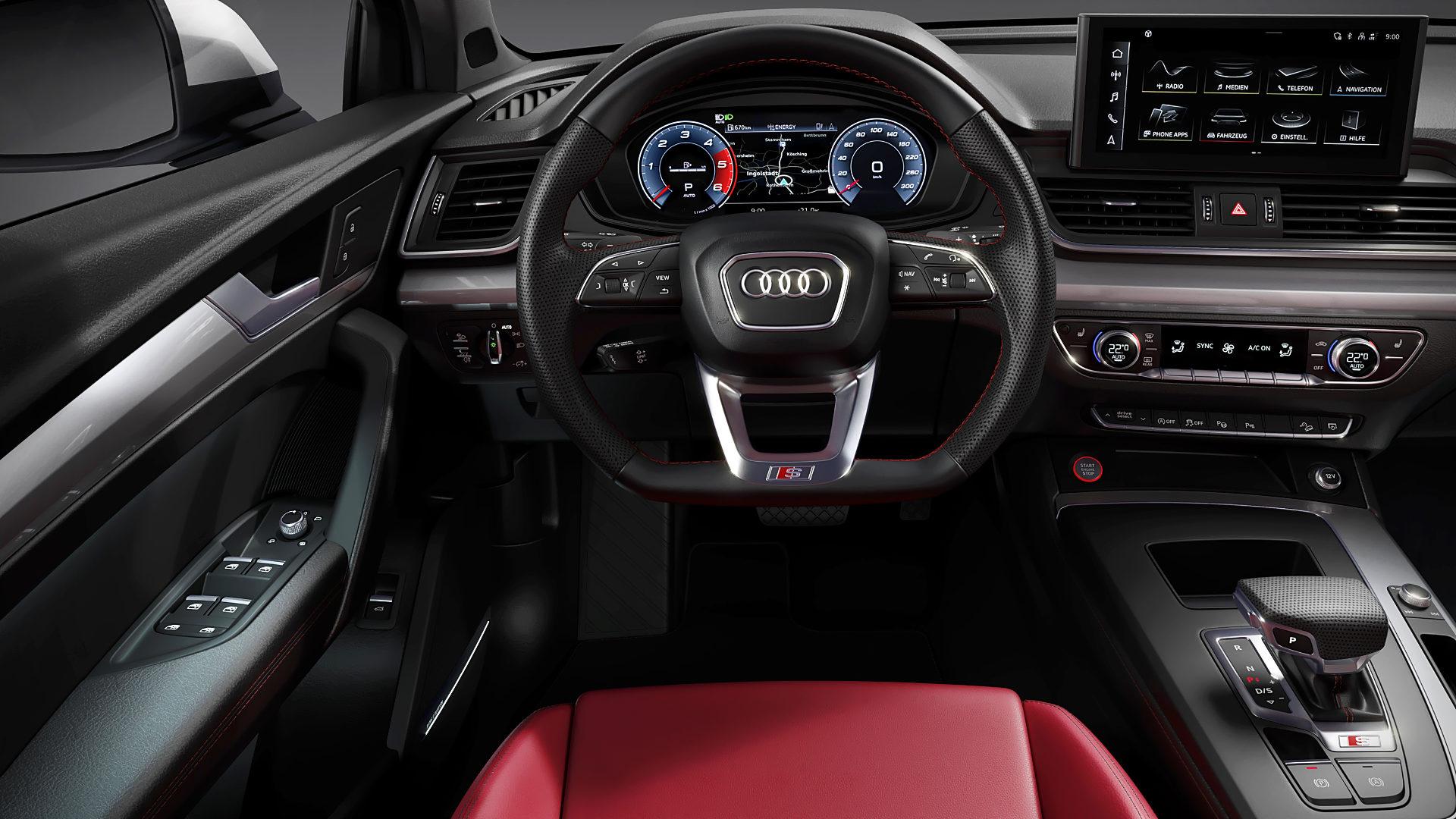 2021 Audi SQ5 Interior