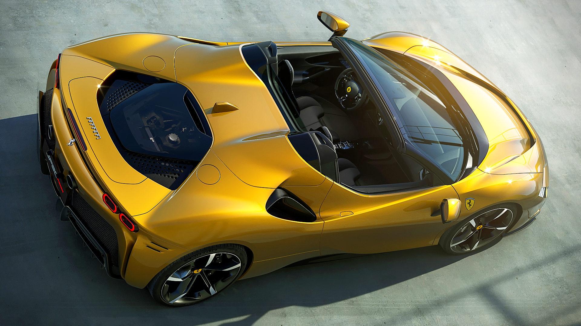 2021 ferrari sf90 spider convertible