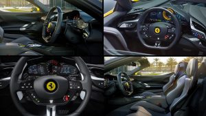 Ferrari SF90 Spider Inside Interior 2021