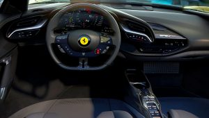 2021 Ferrari SF90 Spider Interior