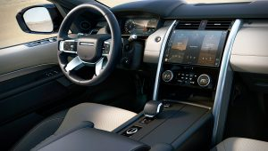 2021 Land Rover Discovery Inside Interior
