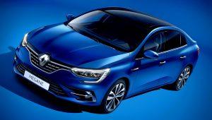 2021 Renault Megane Blue Sedan