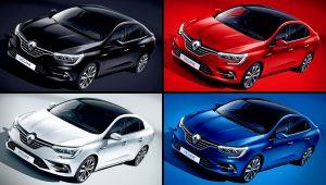 2021 Renault Megane Colors