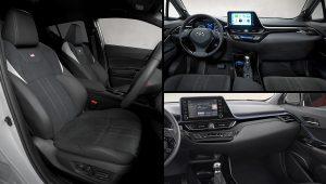 2021 Toyota C-HR Hybrid Interior