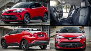 Toyota C-HR Red SUV 2021