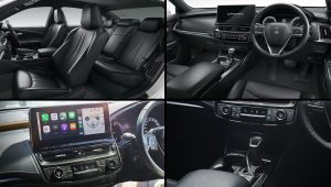 2021 Toyota Crown Sedan Inside Interior