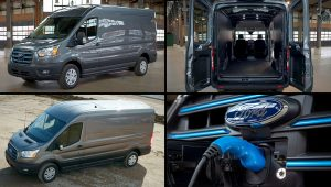 2022 Ford E-Transit Electric Cargo Van