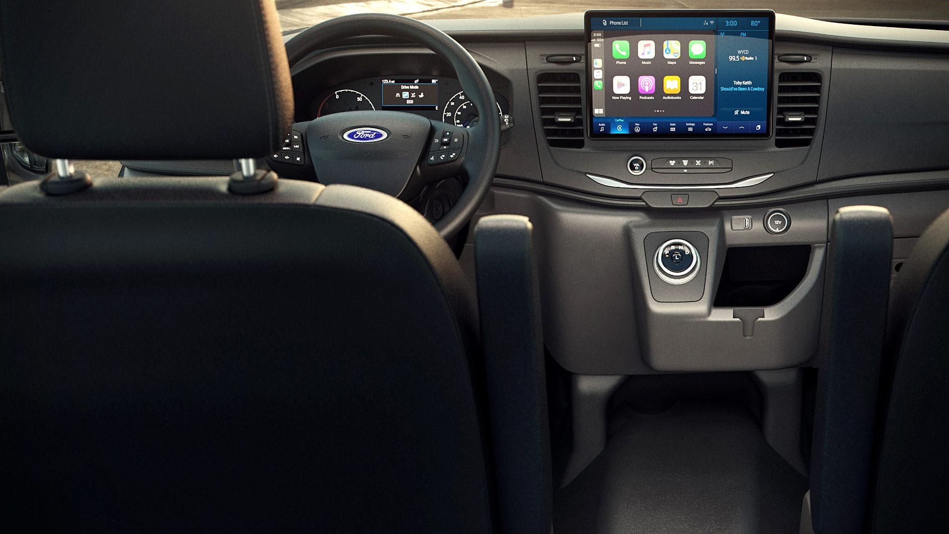 2022 Ford E-Transit Interior