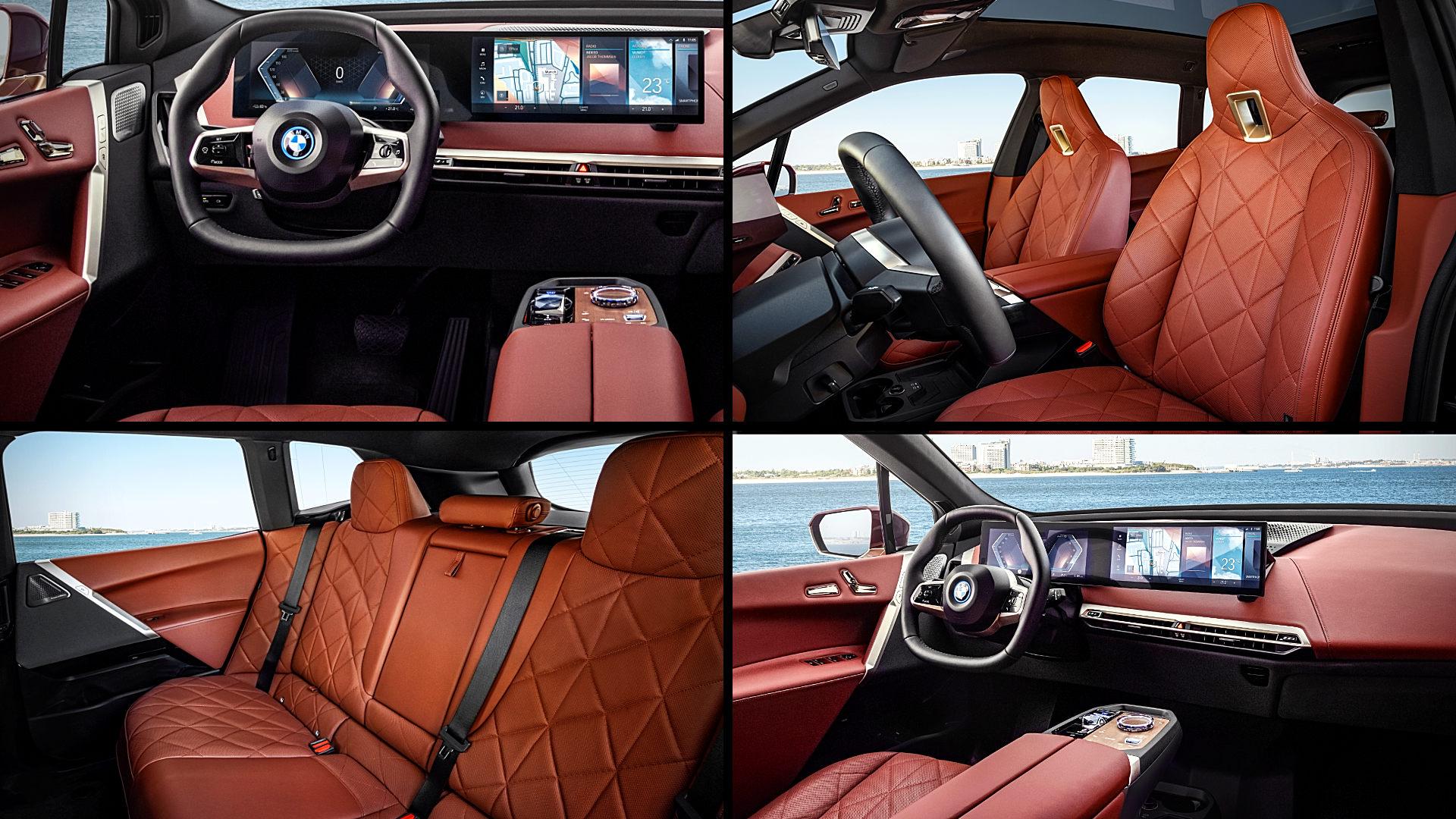 BMW iX Interior Inside