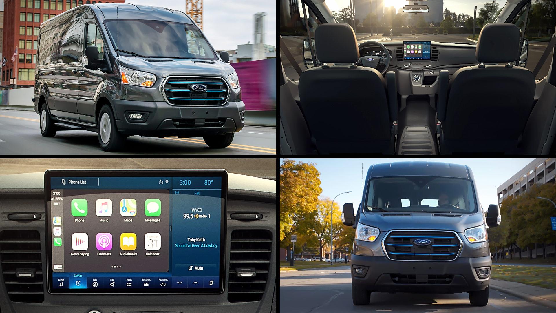 2022 Ford E-Transit Van
