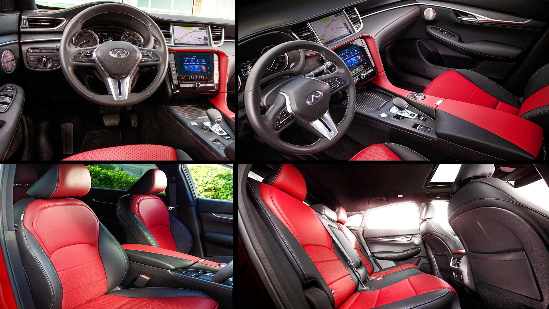 Infiniti QX55 Inside Interior 2021